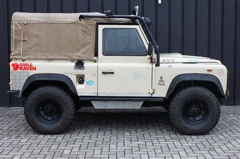 occasion land rover defender  softtop suv diesel