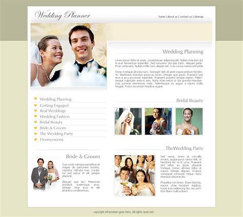 free wedding website templates
