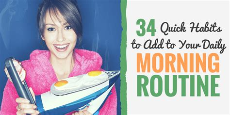 34 Morning Daily Routine Habits For A Healthy Start To | 34 morning daily routine habits for a healthy start to