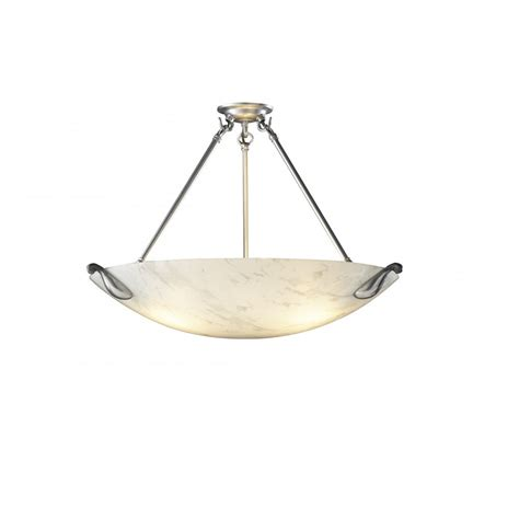 Ceiling Uplighters by Ceiling Pendant Uplighter White Marbled Glass Shade