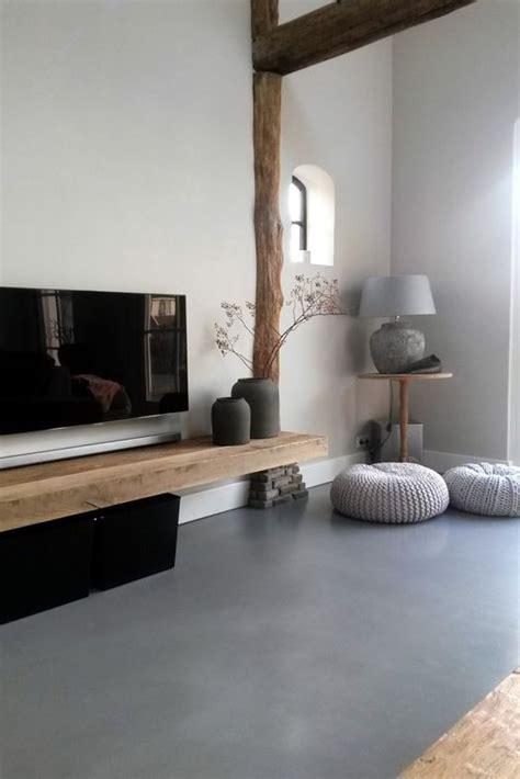 bruin interieur woonkamer woonkamer bruin gietvloer