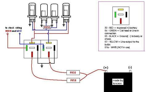 wiring diagram for headlight 28 wiring diagram images
