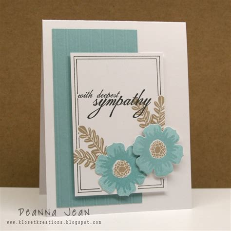Handmade Sympathy Cards Verses - 25 best ideas about with deepest sympathy on
