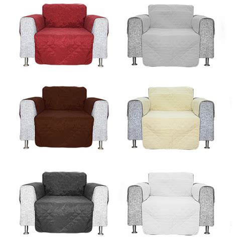 quilted sofa chair settee armchair pet protector slip