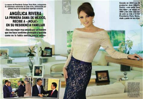 imagenes revista hola angelica rivera telenovelas y revista ang 233 lica rivera hola spanyol