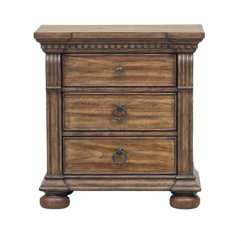 Light Oak Nightstand Samuel Vestiges Nightstand In Light Oak
