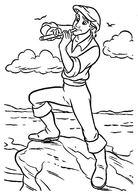 little mermaid and friends coloring pages coloring page the little mermaid coloring pages 12