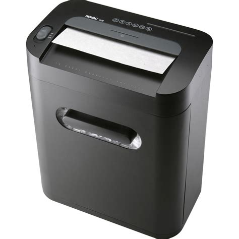 paper shredders royal 100x medium duty cross cut shredder office