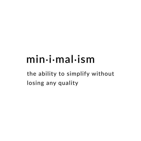 minimalist definition definition of minimalism the ability to simplify without