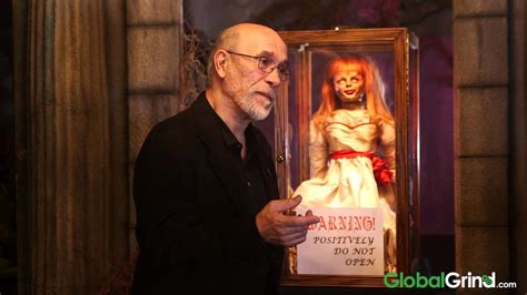 annabelle doll moving is the evileye in annabelle real
