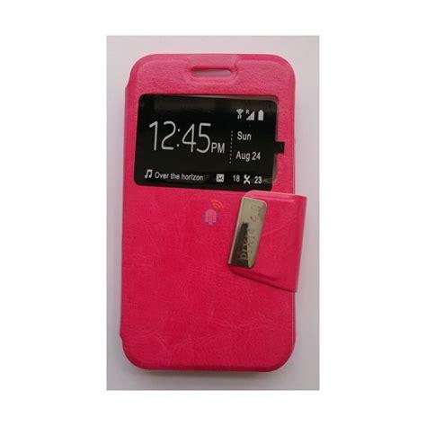 Samsung Galaxy Flip Cover J1 Pink capa flip cover janela para samsung galaxy j1 mini