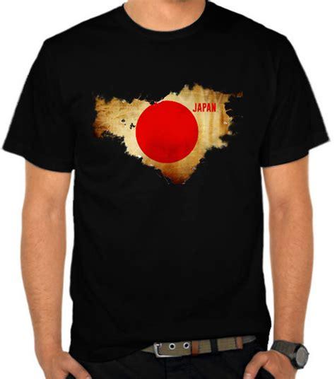 Kaos Logo Jepang jual kaos bendera japan jepang bendera satubaju