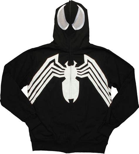 Hoodie Ziipper Venom Cloth venom zip costume hoodie