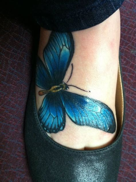 blue butterfly tattoo designs beautiful blue butterfly tattoos www pixshark