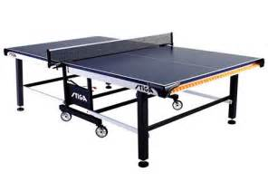stiga sts 520 ping pong table regulation size newgy