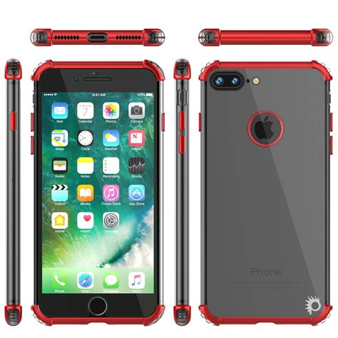 iphone   case punkcase blaze red series protective