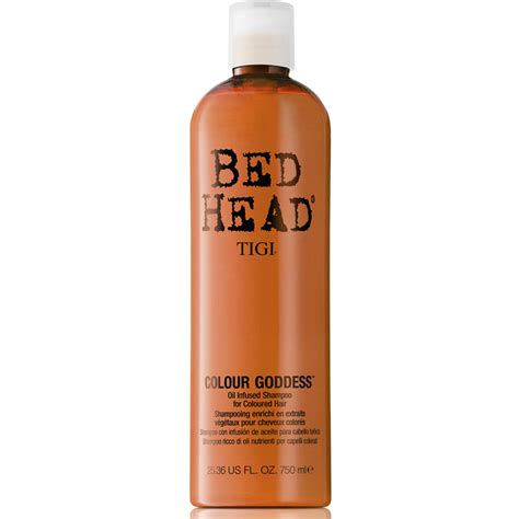 bed head products tigi bed head colour goddess shoo 750ml free