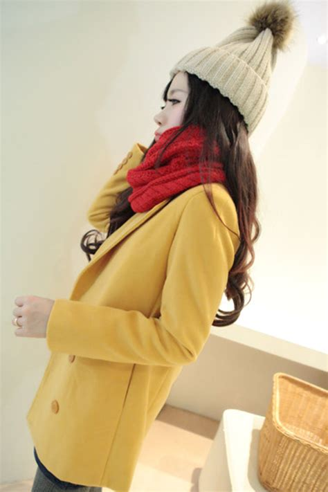 Coat Asminah Baju Wanita jual coat winter baju musim ding wool baby terry sweater