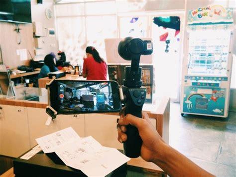 Jual Dji Osmo Surabaya perkenalkan dji osmo dengan fitur zoom lens motion timelapse plazakamera