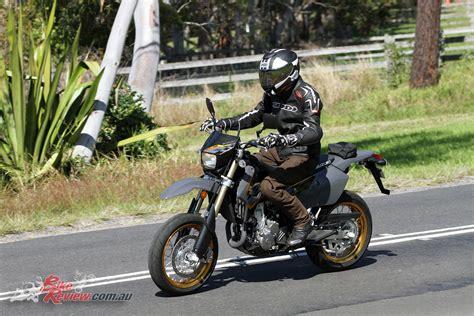 Suzuki Drz400sm Review 2017 Suzuki Dr Z400sm Review Bike Review