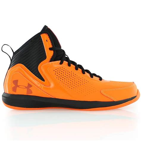 armour basketball shoes orange armour ua jet 2 orange bei kickz