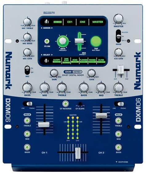 numark console dxm06 numark dxm06 audiofanzine