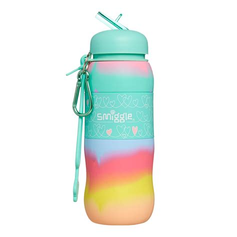 Smiggle Blended Silicone Roll Bottle image for blended silicone roll bottle from smiggle uk