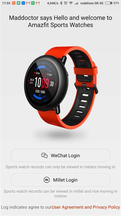 Smartwatch Amazfit amazfit smartwatch application in