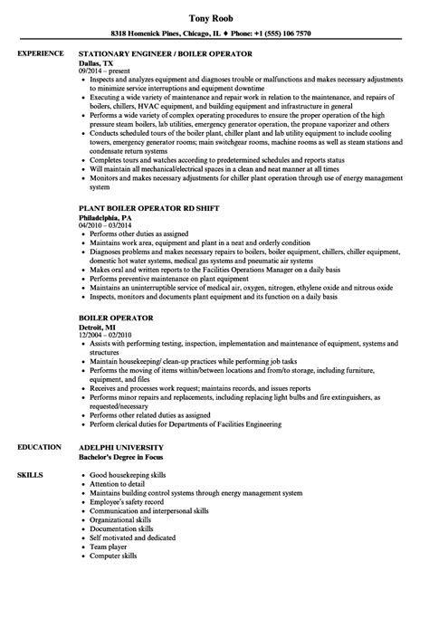 Gas Turbine Operator Sle Resume by Comfortable Gas Turbine Power Plant Operator Resume Images Exle Resume Ideas Alingari