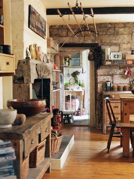 rustic kitchen fireplace   kitchen wow sooo