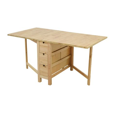 ikea drop table 49 ikea ikea birch norden gateleg drop leaf table
