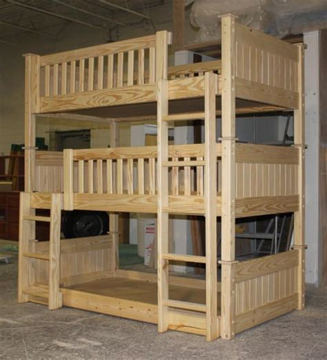 Custom Bunk Bed Bunk Beds 64 Custom Unfinished Bunk Bed Jpg 538 215 593 Diy My Boys