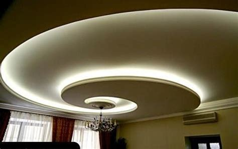 Curved Drywall Ceiling by 4 Curved Gypsum Ceiling Designs For Living Room 2015