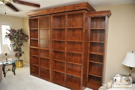 Murphy Bed With Storage Murphy Bed With Bookcases That Open