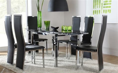 Black Glass Dining Table And 6 Chairs Cheap Stunning Black Table And Chairs Set Chair Glass Dining Table And Chairs Clearance Set Of 4 6