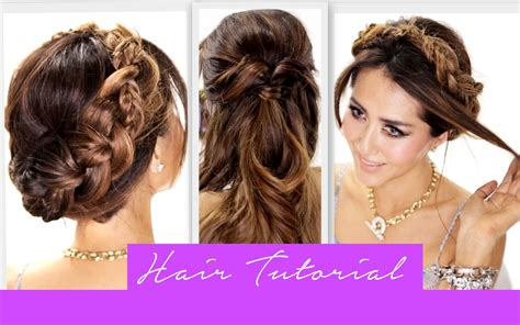 directions for easy updos for medium hair 3 amazingly easy back to school hairstyles cute braids