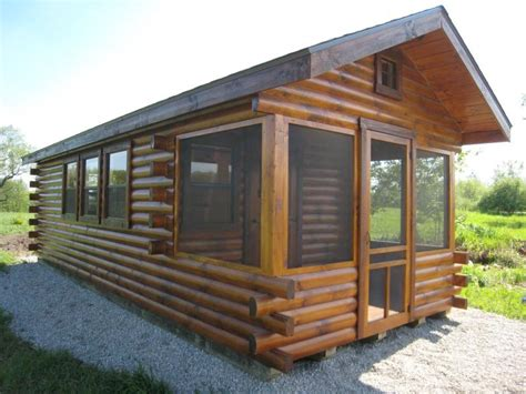 Trophy Cabins by Trophy Amish Cabins Llc Standard Shown