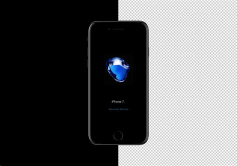 iphone photoshop template iphone 7 mockup free psd on behance