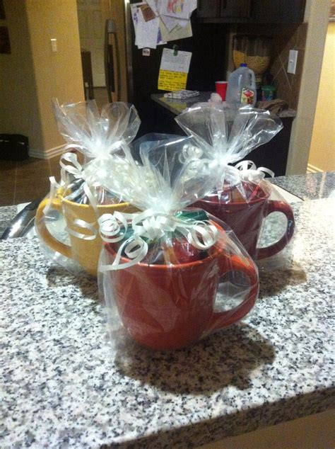 Baby Sweepstakes - baby shower game prizes dollar tree mugs with different kinds of tea baby showers