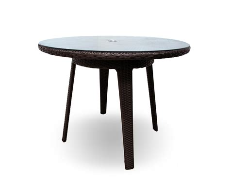 tempered glass dining table senna 40 quot dining table with tempered glass top