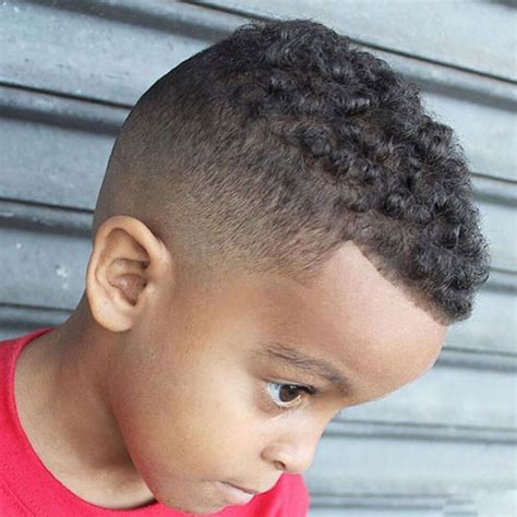 little boy fade with curls on top 17 black boys haircuts 2017