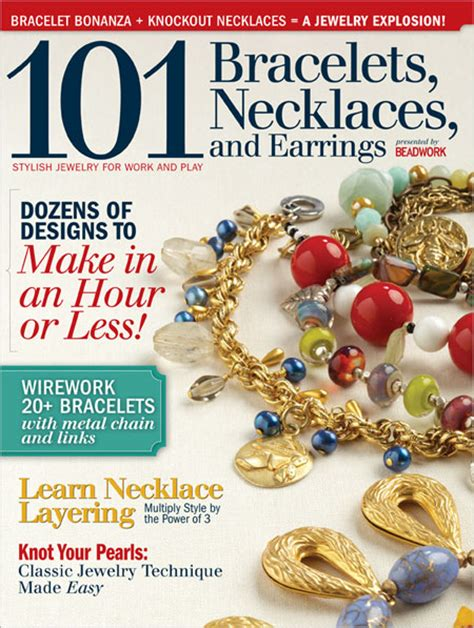 jewelry magazines beading daily 101 jewelry design magazine now