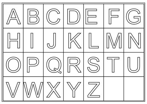 printable alphabet print big letters print big numbers free printable alphabet letters for preschoolers upper