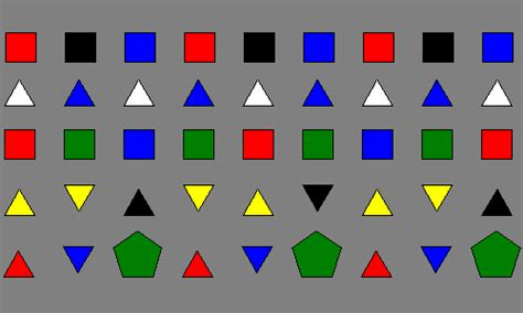 shape pattern interactive counting on frank process