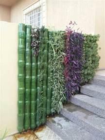 plastic bottle planter wall diy bottle