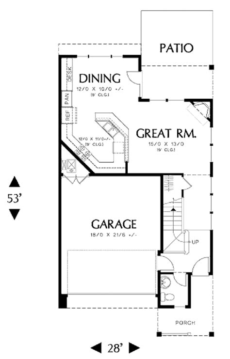 500 sq ft house plans 2 bedrooms country style house plan 3 beds 2 5 baths 1699 sq ft plan 48 500