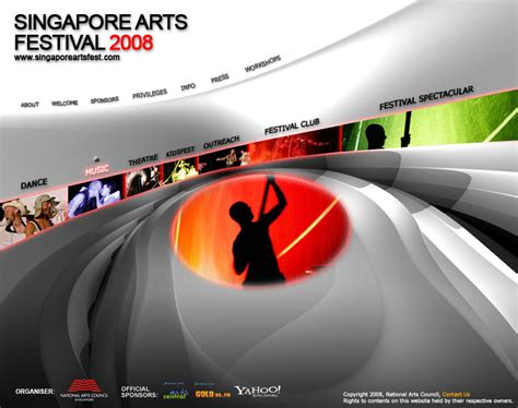 Singapore Arts Festival 2007 by Singapore Arts Festival 2008 By Progenitor89 On Deviantart