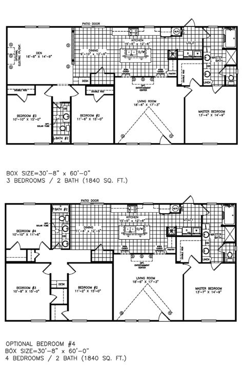 mi casa floor plan mi casa homes the mirage manufactured home floorplans