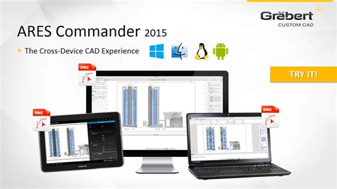 ares commander 2015 the cross device cad experience