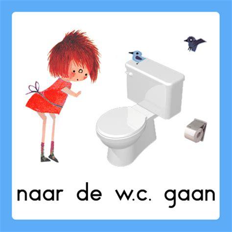 pictogrammen toilet bezoek welkom